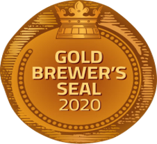 Zlatá pivní pečeť 2020 pro Černý Tesák 13%
