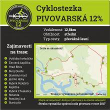Bítovská cyklostezka PIVOVARSKÁ 12%